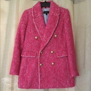 Herringbone Pink Jacket